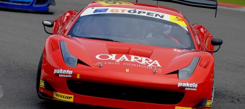 Andrea Piccini at Spa 24 Hours 2014 with AF Corse and Ferrari