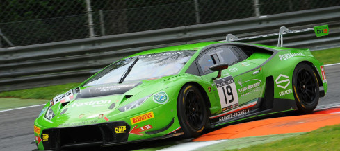 Piccini forced to retire in the opening round of Blancpain Endurance Series 2016