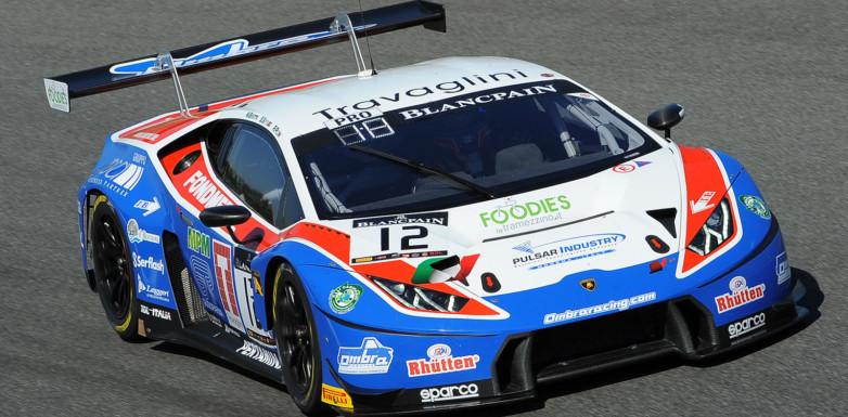 Una penalità e un inconveniente tolgono a Beretta-Piccini-Gattuso i primi punti stagionali nel Blancpain Endurance Series