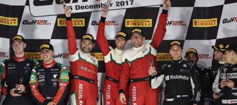 Andrea Piccini trionfa alla Gulf 12 Hours con al Ferrari 488 GT3 del Kessel Racing
