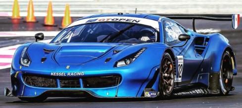 Michelin Le Mans Cup 2018: Andrea Piccini al via della serie insieme a Claudio Schiavoni sulla Ferrari 488 GT3 del Kessel Racing