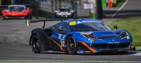 Fifth place in Monza for Andrea Piccini and Claudio Schiavoni in Michelin Le Mans Cup