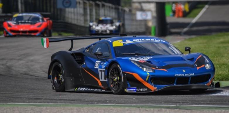 Quinto posto a Monza per Piccini-Schiavoni nella gara di casa della Michelin Le Mans Cup